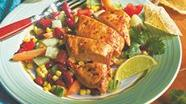 Zesty Chicken with Corn Salsa