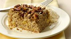 Fresh Apple Streusel Pecan Cake Recipe