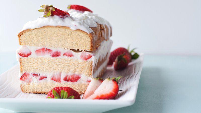 Strawberries And Cream Recipe Easy Easy Ice Cream Strawberry