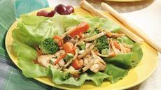 Spicy Asian Lettuce Wraps Recipe
