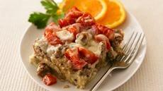 Sausage, Cheese and Tomato Strata Recipe
