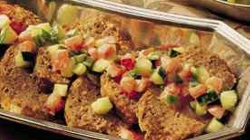 Curried Meat Loaf