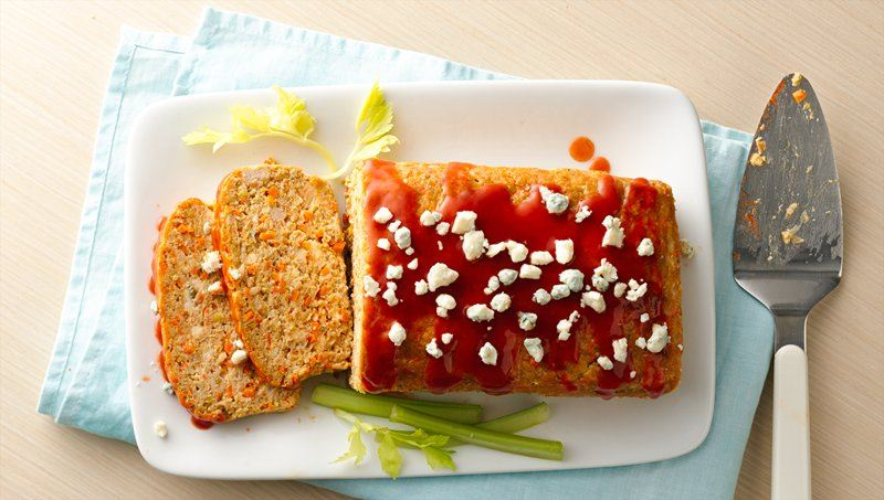 Buffalo Chicken Meat Loaf