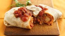 Thai Chicken Burritos Recipe