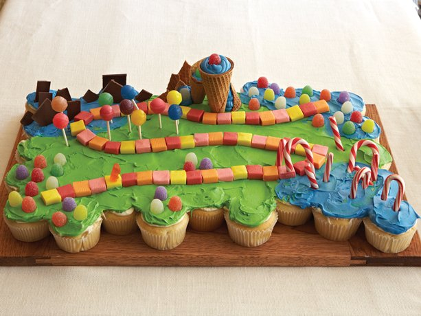 Fantasyland Pull Apart Cupcakes