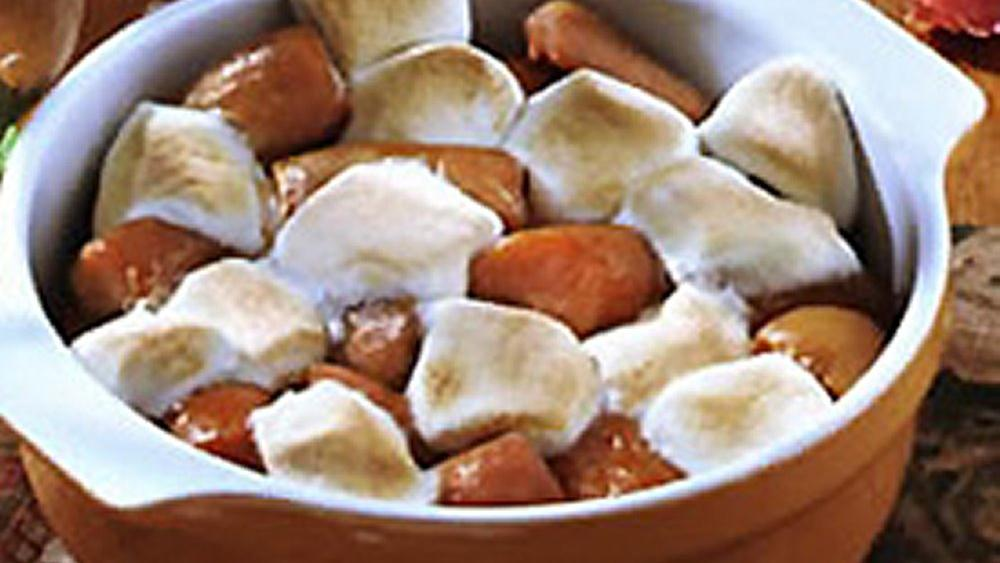 Marshmallow-Topped Sweet Potatoes recipe from Pillsbury.com