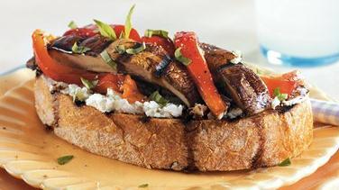 Open Face Portabella Sandwiches