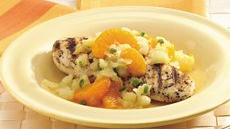 Grilled Chicken Breasts with Mandarin Orange Salsa Recipe