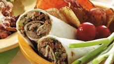 Gingered Pork Wraps Recipe