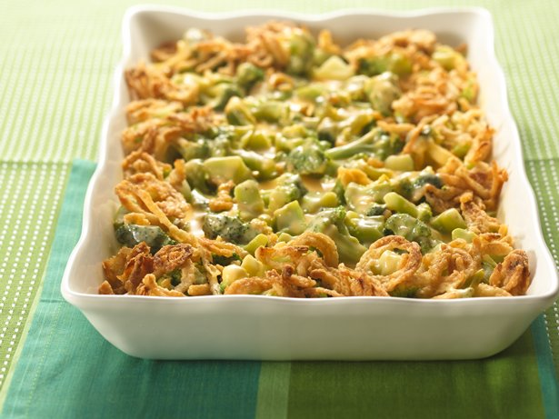 Company Broccoli Three-Cheese Bake