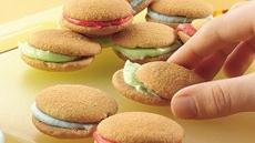 Rainbow Cookie Sandwiches Recipe