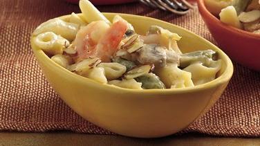 Shrimp and Pea Pod Casserole