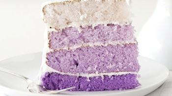 Purple Ombre Layer Cake