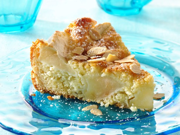 Danish Apple-Almond Cake