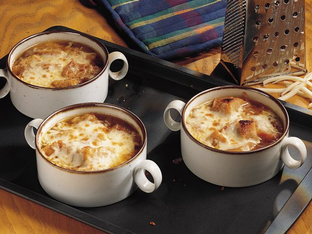 Golden Onion Soup 