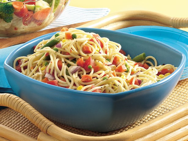 Confetti Spaghetti Salad