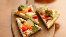 Easy Vegetable Pizza (club store pack) Recipe