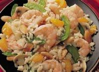 Mandarin-Almond Shrimp