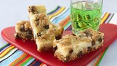 Chocolate Chip Cheesecake Bars (cookie dough tub) Recipe
