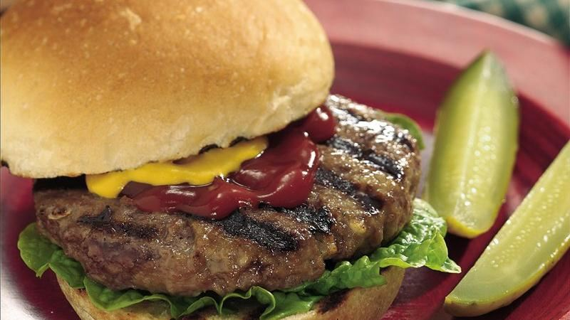 Grilled Juicy Burgers
