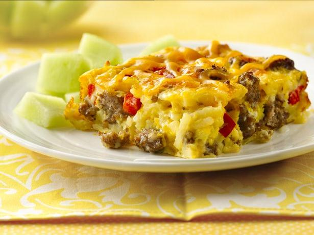 Impossibly Easy Breakfast Bake (Crowd Size) recipe from Betty Crocker