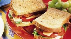 BLT and Swiss Sandwiches with Tomato Rmoulade Recipe