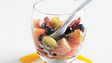Mixed Fruit and Cheese Salad