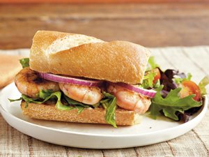 Grilled&#32;Shrimp&#32;Po&#8217;boy