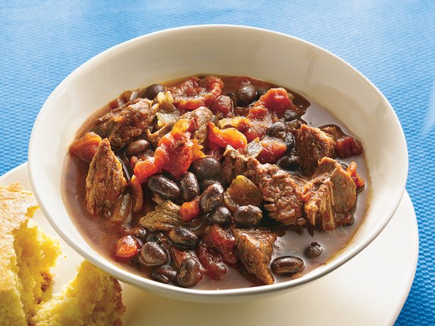 Slow Cooker Beef and Bean Chili