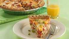 Tomato-Bacon Quiche Recipe