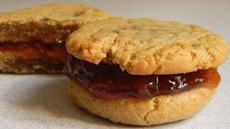 Peanut Butter and Jelly Cookie-wiches Recipe