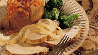 Garlic Pork Roast