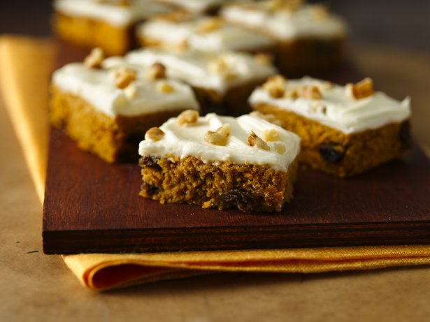 Gluten Free Harvest Pumpkin Spice Bars