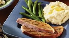 Ham Steak with Apple Glaze Recipe