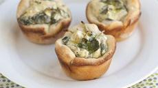 Spinach-Artichoke Mini Bites Recipe
