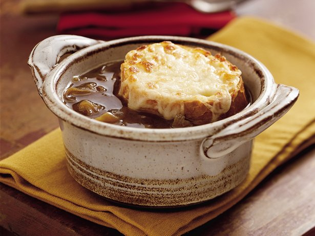 Slow-Cooker French Onion Soup recipe from Betty Crocker
