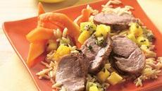 Grilled Pork Tenderloin with Pineapple Salsa Recipe