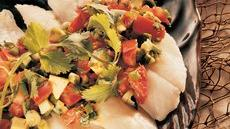 Fish Fillets with California Salsa Recipe