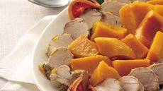 Slow Cooker Orange Pork Tenderloin with Butternut Squash Recipe