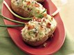 Gorgonzola Twice-Baked Potatoes with Bacon