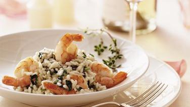 Champagne Shrimp Risotto