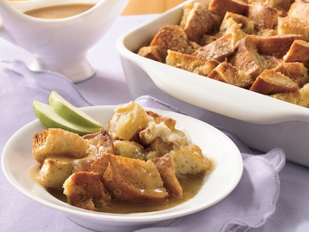 Image of Apple Bread Pudding With Warm Butter Sauce, Betty Crocker
