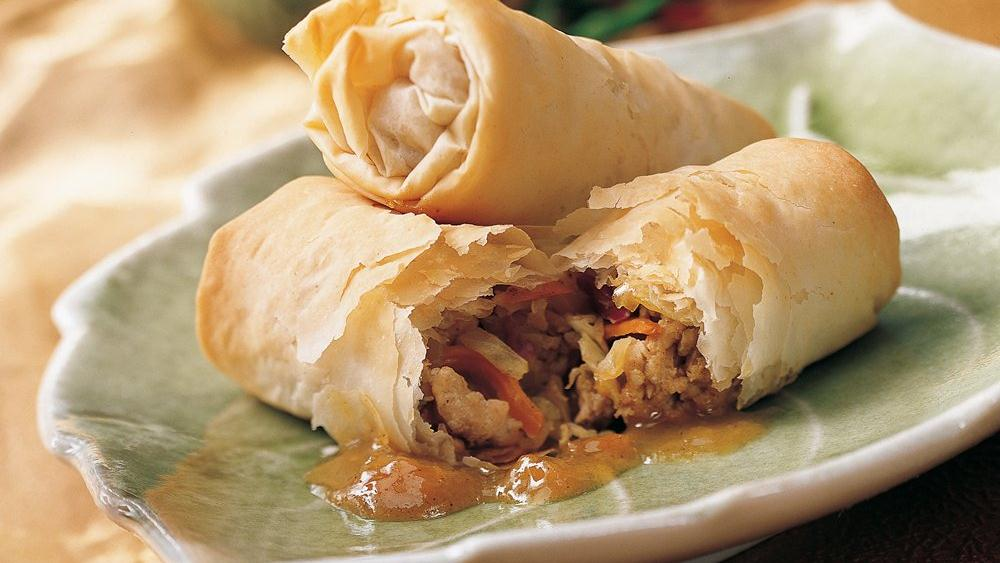 Easy Phyllo Egg Rolls