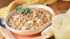 Southwestern Chicken and Bean Stew Recipe
