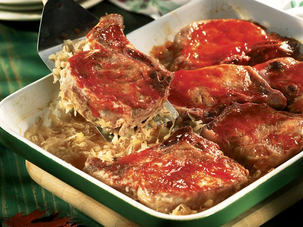 Bavarian Pork Chops