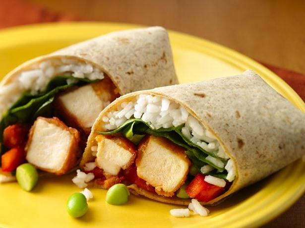 Sweet & Sour Chicken Wraps
