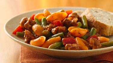 Italian Sausage and Green Beans