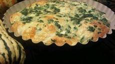 Grands Smoked Fontina and Spinach Tart Recipe