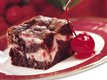 Cherry Swirl Brownies