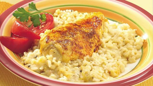 Easy Chicken with Rice Casserole